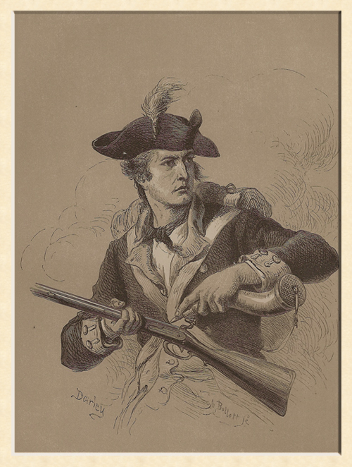 US Colonial Minuteman